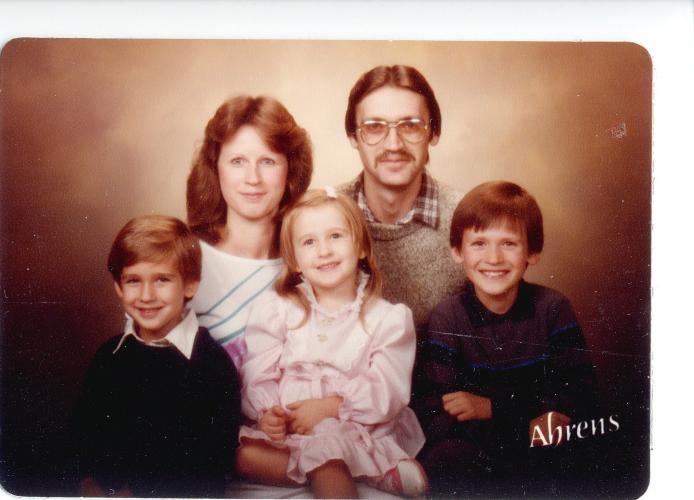 family portrait 1985